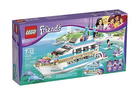 Amazon Lego Friends Dolphin Cruiser Building Set 41015