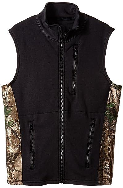 f3b9edf7adb6 Justin Flame Resistant Men s Big-Tall Polartec Fleece Vest with Wind Pro  Technology