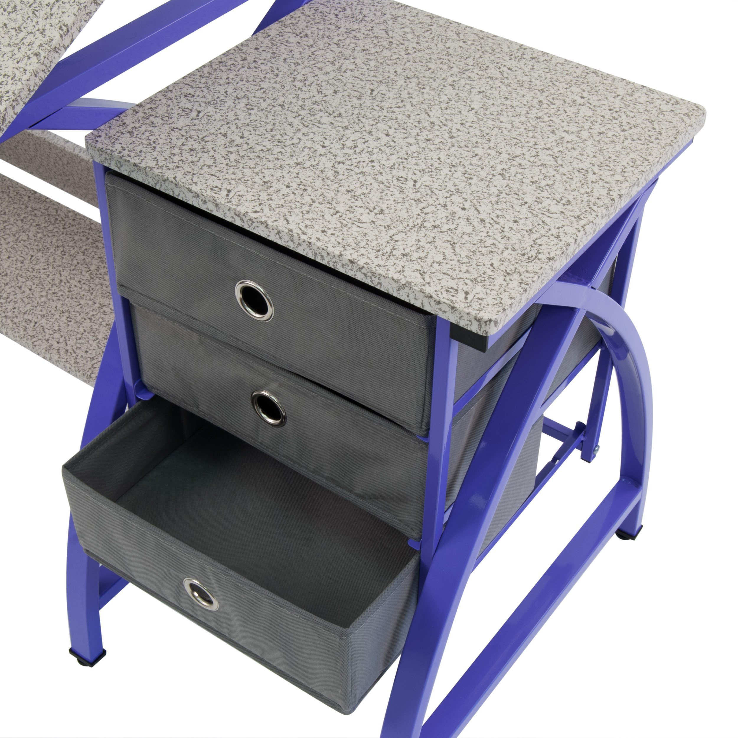 Comet Center with Stool in Purple / Spatter Gray by SD STUDIO DESIGNS (Image #6)