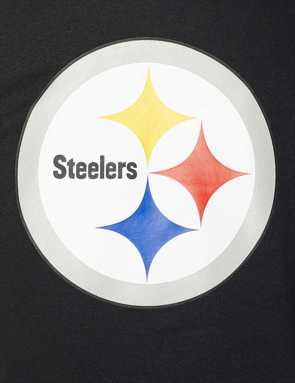 3XL New Era Herren Pittsburgh Steelers Hoodie Black