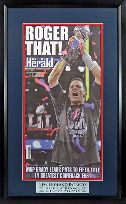 New England Patriots Super Bowl Li Champions Boston Herald