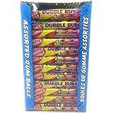 Original Dubble Bubble - Assorted Gum Balls - 36 Packages of 6 Pieces