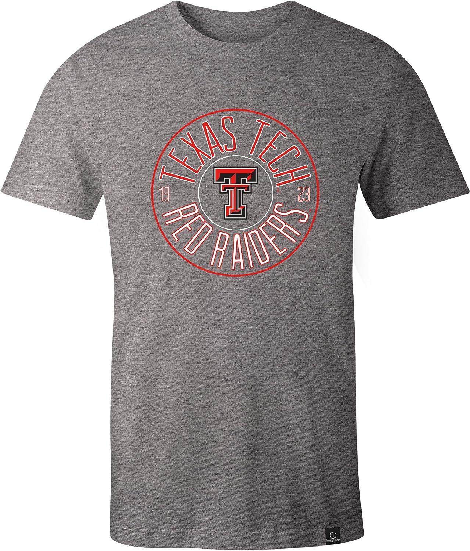 Image One Adult Unisexs NCAA Circles Everyday Short Sleeve T-Shirt