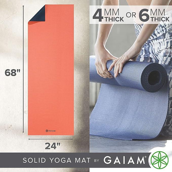 Gaiam Colchonetas para Yoga