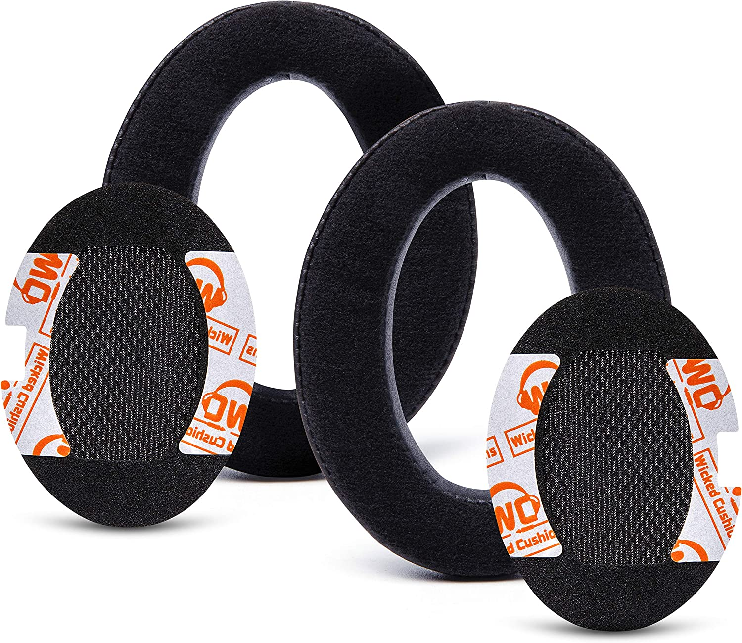 Hybrid Velour Bose Headphones Replacement Ear Pads Made by Wicked Cushions SoundTrue and SoundLink Over-Ear Ae2i Compatible with QC15 Ae2 Ae2w QuietComfort 15