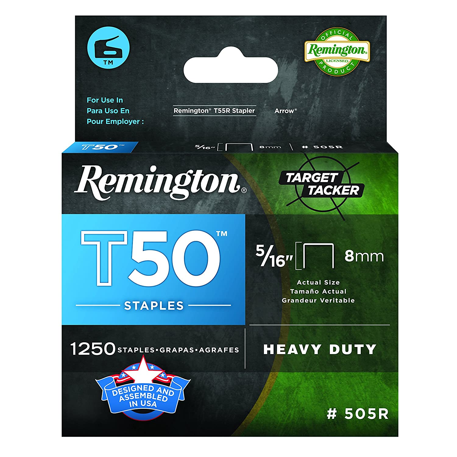 Arrow Fastener 50512R Remington T50 Staples, 5/16-Inch The Distribution Point FC
