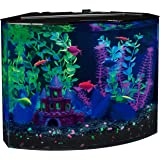 GloFish 5 Gallon Crescent Aquarium Kit