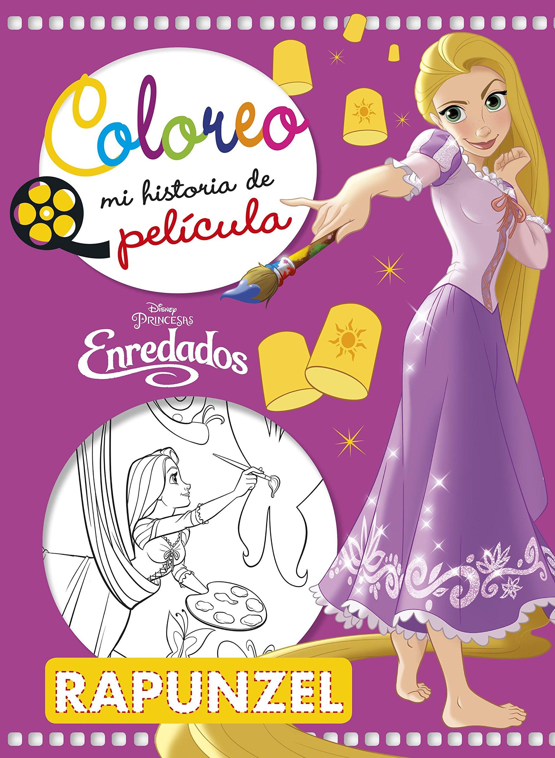Enredados. Coloreo mi historia de película Disney. Enredados ...