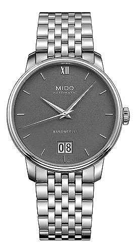 MIDO - Reloj analógico automático para Hombre con Correa de Acero Inoxidable m027.426.11.088.00: Amazon.es: Relojes