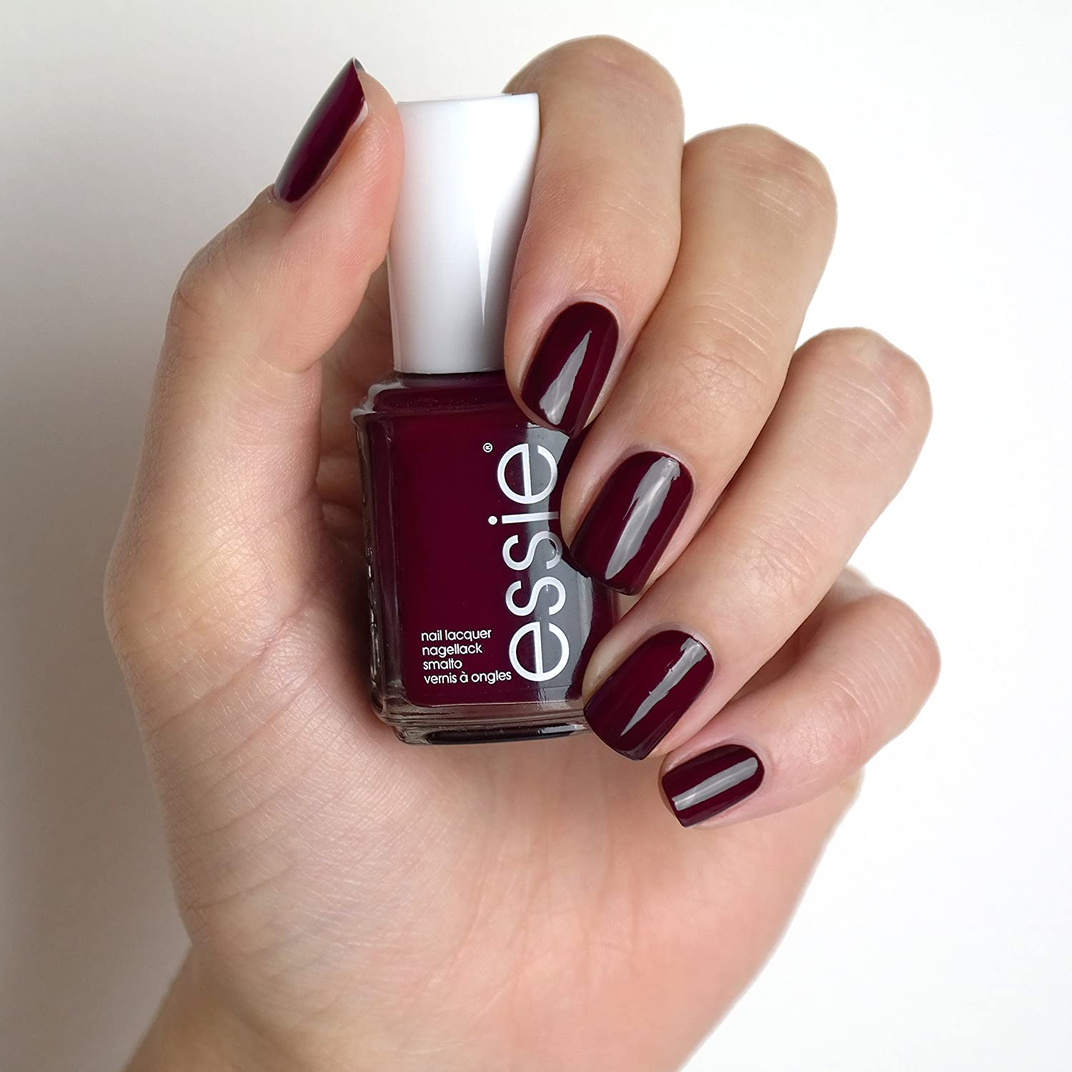 essie Nagellack Dunkles Rot wicked Nr. 49/Ultra deckender Farblack ...