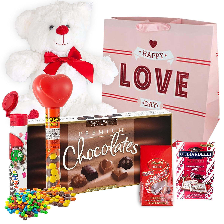 Juego de cestas de regalo para el día de San Valentín de ...