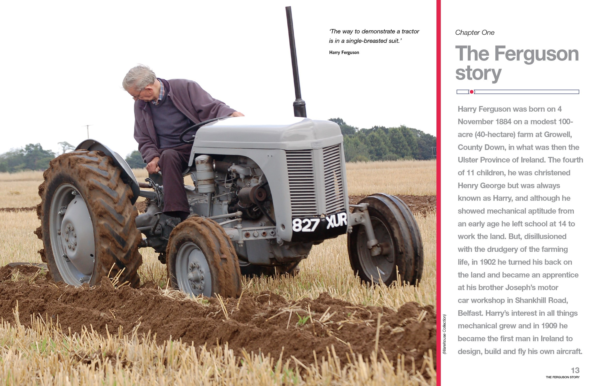 Ferguson Tractor Manual: An Insight into Owning, Restoring and Using the  World's Most Well-known Tractor: Amazon.co.uk: Pat Ware: 0699414010936:  Books