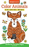 Color Animals Coloring Book: Perfectly Portable Pages (On-the-Go! Coloring Book) (Design Originals) Extra-Thick High…