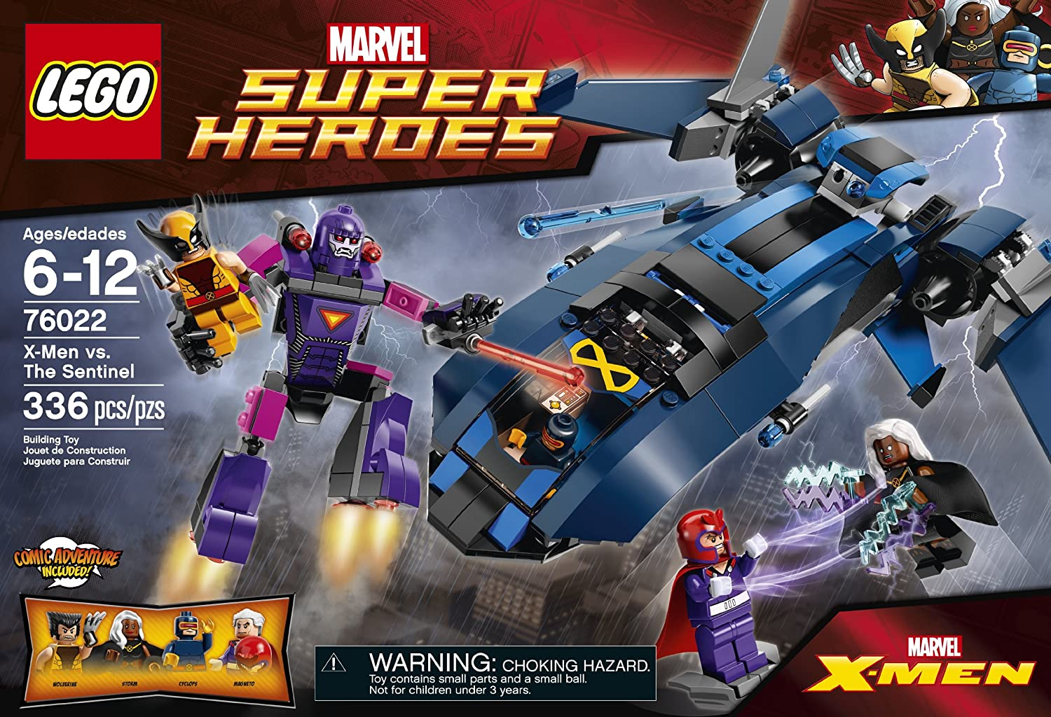 The Sentinel Building Set 76022 LEGO Superheroes X-Men vs Discontinued by manufacturer 6062407