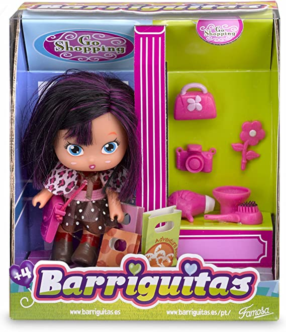 Amazon.es: Barriguitas - Va de Compras, playset (Famosa 700012093): Juguetes y juegos
