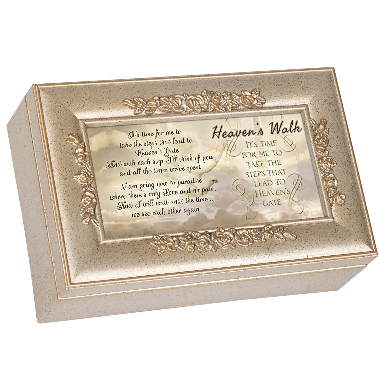 【50%OFF】 Heavens Walk Bereavementエレガントなシルバー仕上げ小柄ジュエリー音楽ボックス – Plays Plays Amazing Grace Grace Walk B00KMDHZ5I, ディッキーズ公式ストア:cabd8f0a --- arcego.dominiotemporario.com