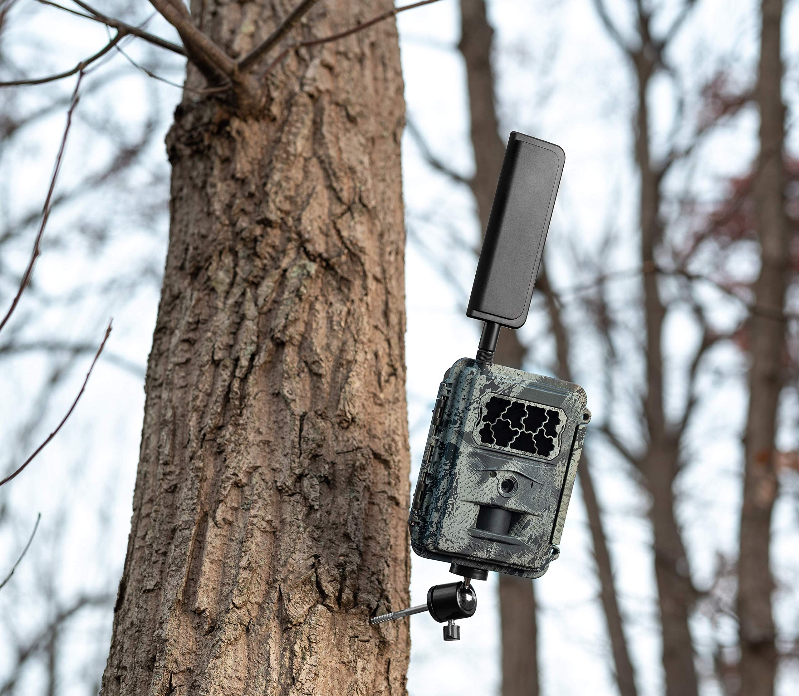 Spartan 4G LTE GoCam Wireless Trail Camera with Mount, AT&T Blackout (Verizon Also Available) by SPARTAN (Image #4)