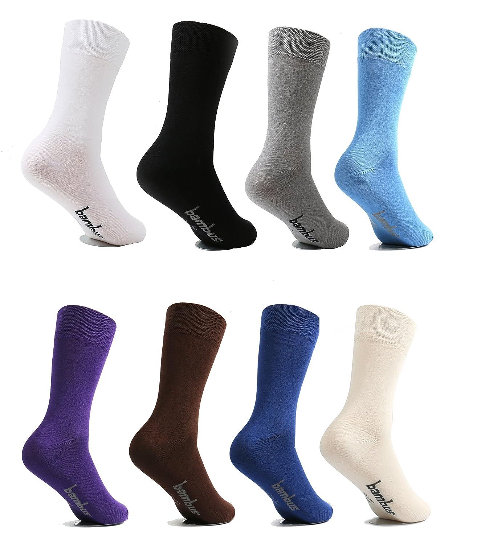 calcetines de bambú 6 pares