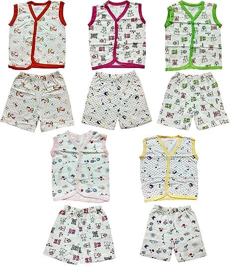 235b793a6e75 Buy Fancyadda Baby Soft Cotton Jabla   Short Combo Sets for Boys and ...