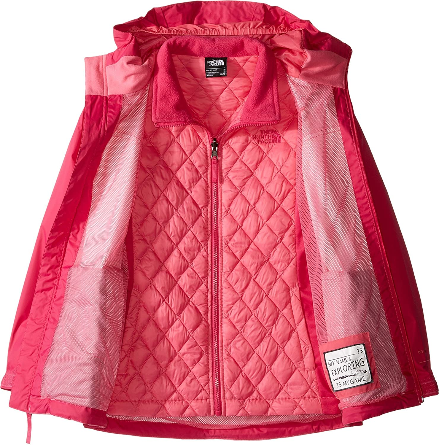 Amazon.com: the north face Girl s Thermoball Triclimate ...