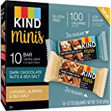 Kind Minis Gluten Free Variety Pack, 0.7ozx10 bars, total 7oz, Pack of 1