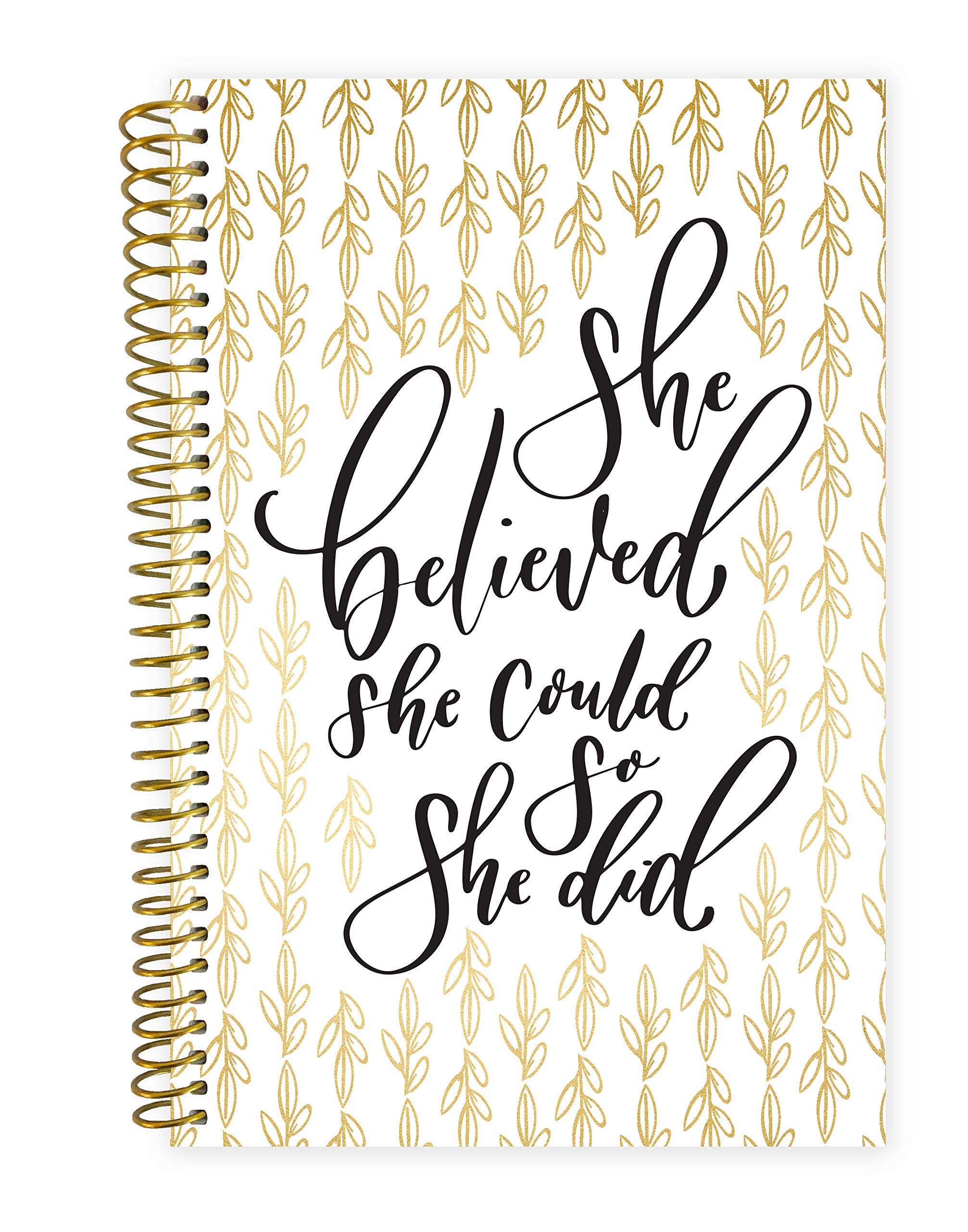 Bloom Daily Planners 2019 Calendar Year Day Planner - Passion/Goal Organizer - Monthly and Weekly Dated Agenda Book - (January 2019 - December 2019) - 6'' x 8.25'' - Writefully His