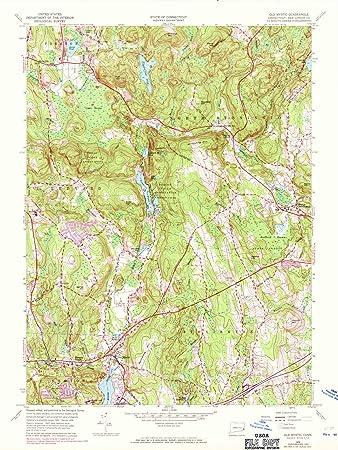 Amazoncom Connecticut Maps 1958 Old Mystic Ct Usgs Historical - Us-geologic-survey-maps