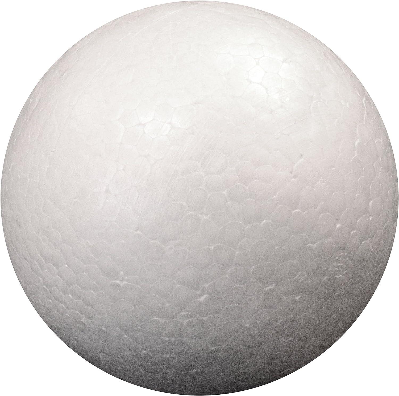 4-Inch Darice 01258P 2-Piece Dura Foam Balls
