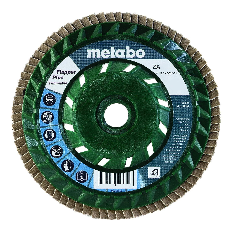 Metabo 629446000 4 1//2 Flapper Plus 40 5//8-11 T29 Pb