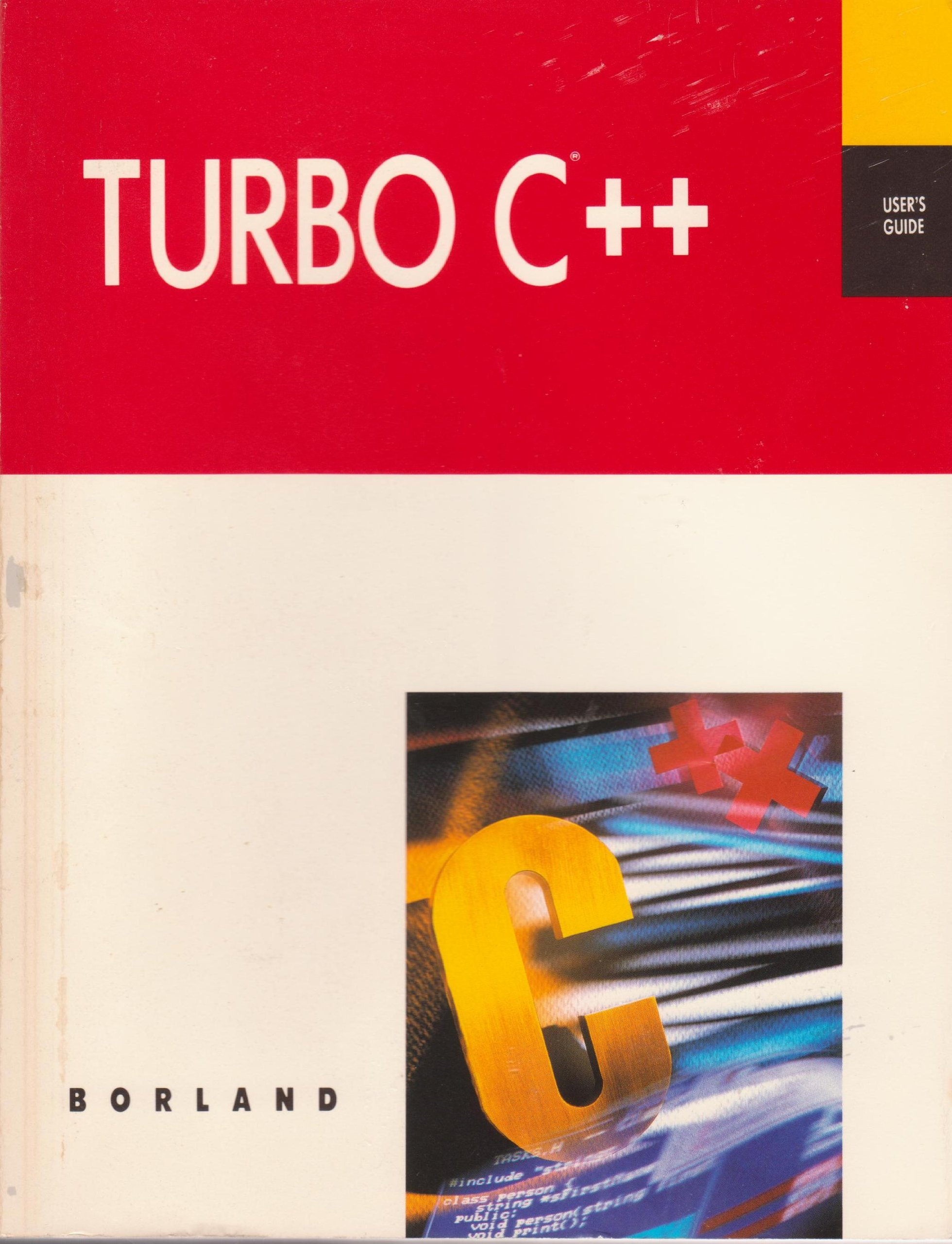 Turbo C++ Users Guide Paperback – 1990