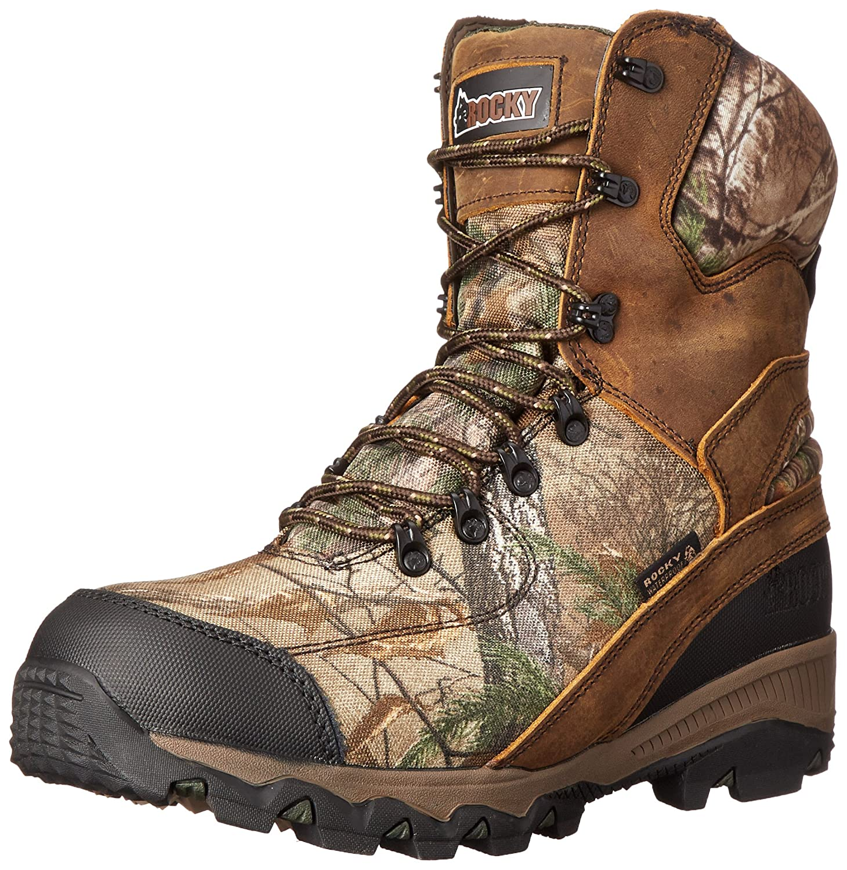 Rocky Men's 8 Inch Adaptagrip 1000G Hunting Boot