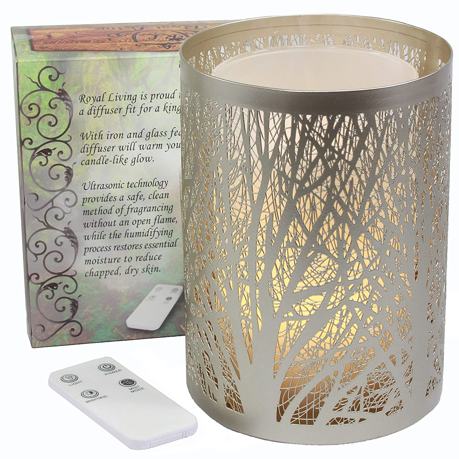 Decorative Collectibles Collectibles Modern Looking Aromatherapy Decor Pewter Oil Warmer