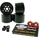 90mm Wheels Longboard Flywheels + Owlsome ABEC 7 Precision Bearings