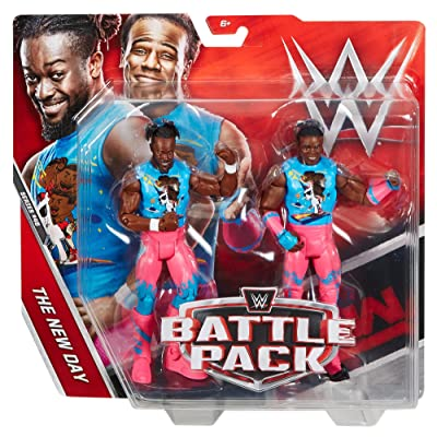 WWE Kofi Kingston & Xavier Woods Action Figure (2 Pack): Toys & Games