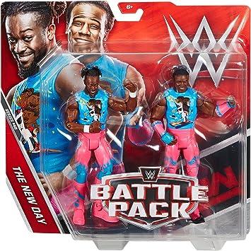 WWE Battle Pack 46 Kofi Kingston y Xavier Woods The New Día: Amazon.es: Juguetes y juegos