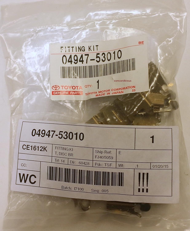 Toyota 04947-02130 Disc Brake Pad Retaining Clip