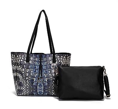 fd144b698d07 Handbags for Women s Shoulder Bags Tote Satchel Hobo Top Handle Ladies  Purse Set Large Capacity by