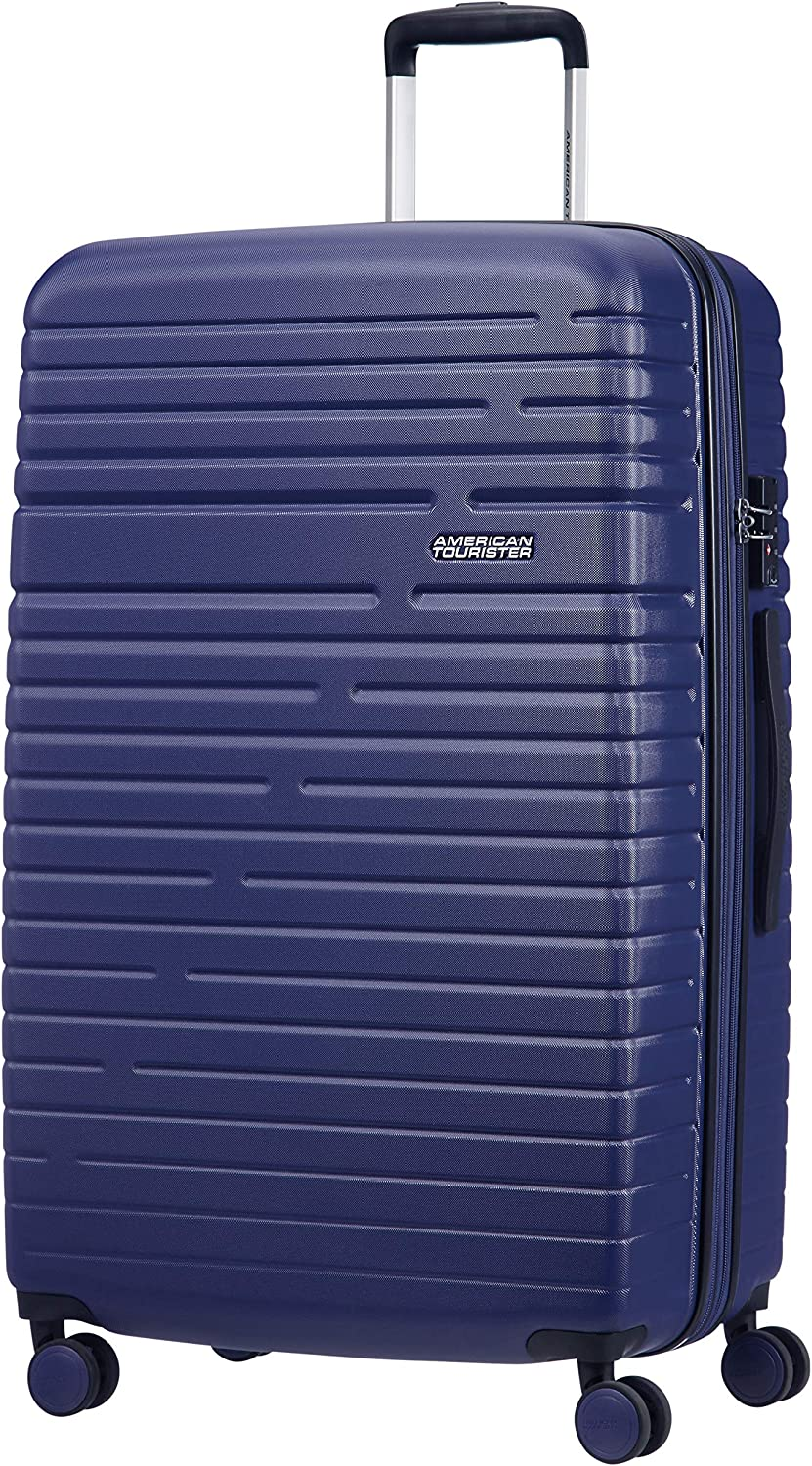 American Tourister Aero Racer Spinner 79 Expandable - 4,5 Kg Equipaje de mano, cm, 115 liters, Azul (Nocturne Blue)