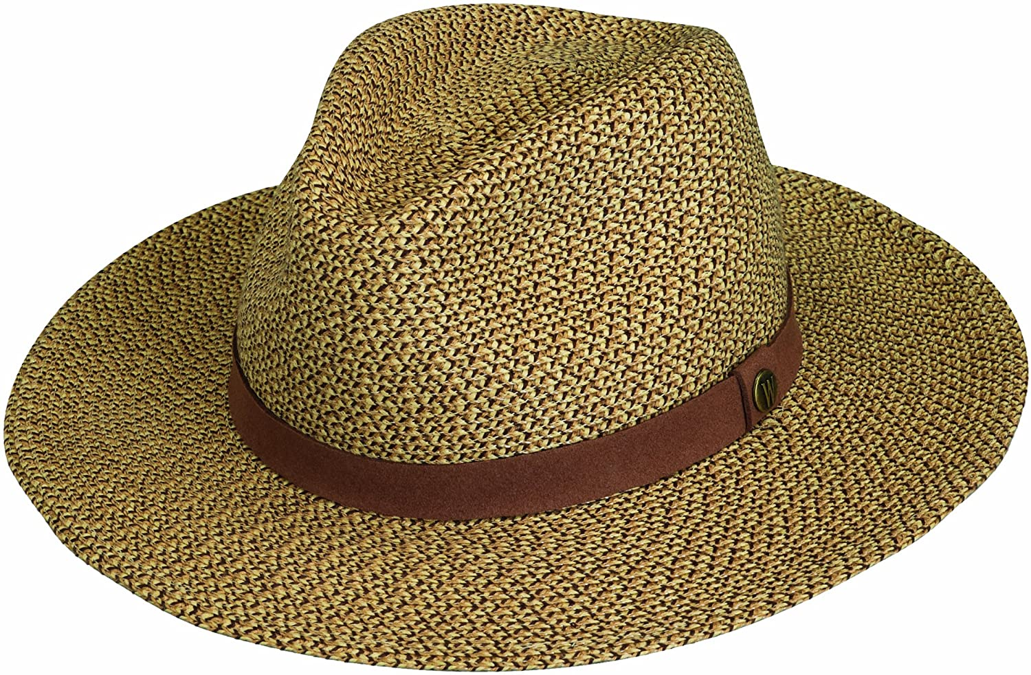 Wallaroo Hat Company Men's Outback Fedora – UPF 50+, Adjustable, Designed in Australia at  Men's Clothing store