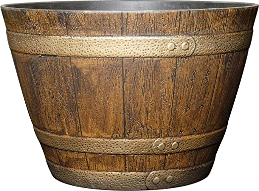 Classic Home and Garden 72 Whiskey Barrel, 15