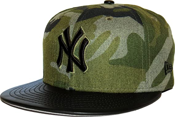 ec2a45ba79a New Era New York Yankees Wooly Camo 59FIFTY Fitted MLB Cap - Camo (6 ...