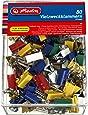 Herlitz 10411148 Vielzweckklammern Box, 19mm, 80 Stück, farbig
