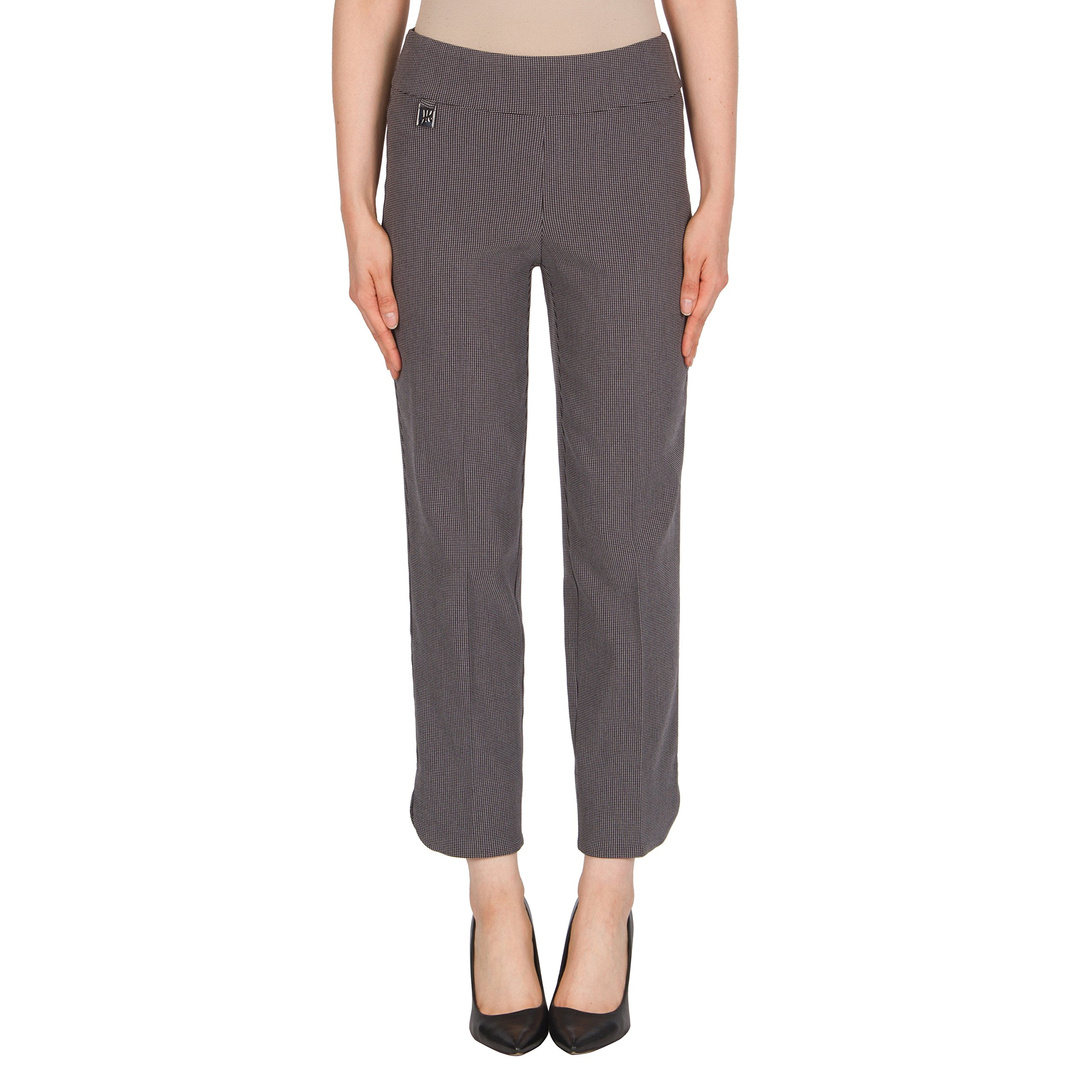 Joseph Ribkoff Micro-Dot Stretch Ankle Length Pant Style 174828 - Size 16 by Joseph Ribkoff