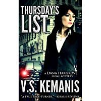 Thursday's List (A Dana Hargrove Legal Mystery Book 1) (English Edition)