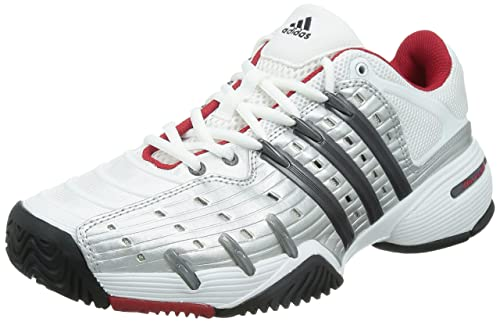 adidas Barricade V Classic - Zapatillas para Hombre, Color Blanco/Negro/Plata, Talla 46: Amazon.es: Zapatos y complementos