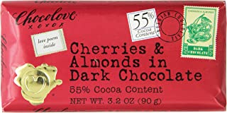 product image for Chocolove Dark Chocolate, Cherry/Almond, 3.2 Ounce (Pack of 12)