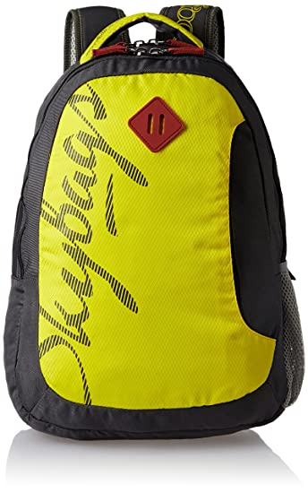 Skybags Leo 26 Ltrs Yellow Casual Backpack (BPLEO1YLW)  Amazon.in ... 4bcf699e5f