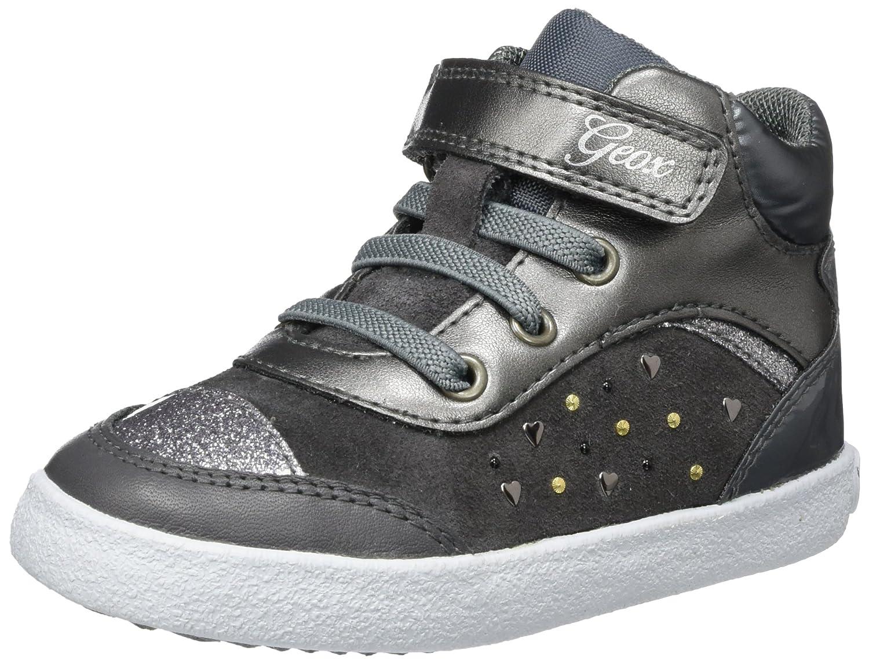 Geox B Kiwi A, Sneakers Basses bébé Fille