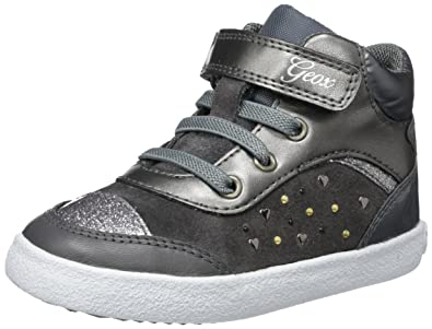 Geox Baby Girls  B Kilwi Girl Low-Top Sneakers - Black 50b3a5dca55