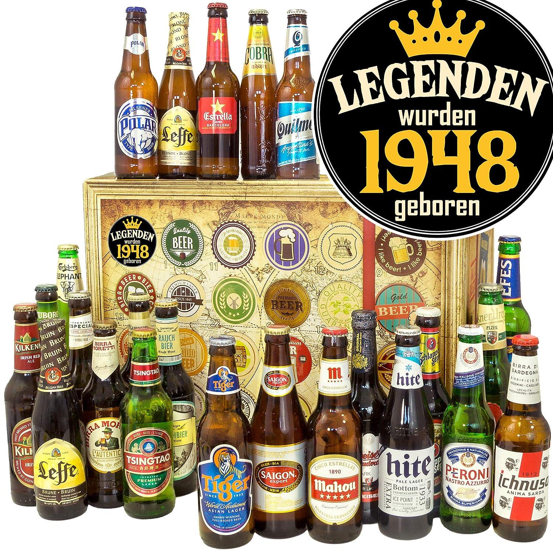 Legenden 1948 | Geschenkset fü r Mä nner | Biere aus aller Welt Ostprodukte-Versand.de
